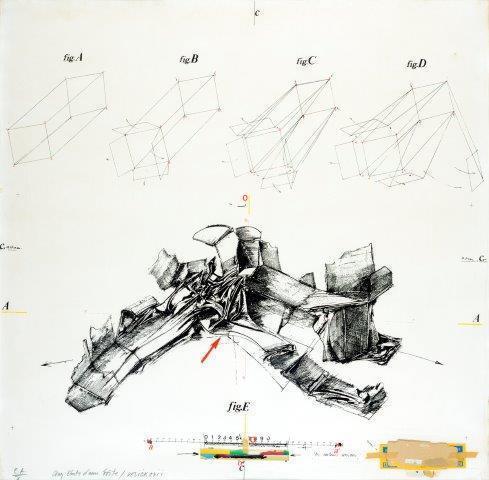 Vladimir Velickovic, 'Aux états d'une toile', Digard Auction