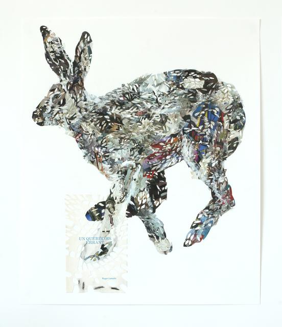 , 'Lièvre errant,' 2014, Galerie BAC