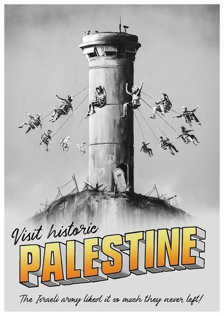 Banksy, 'Visit Historic Palestine', 2019, Lougher Contemporary