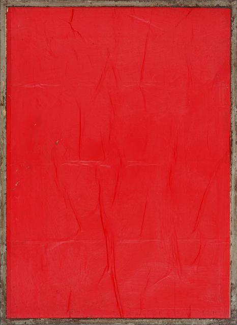 , 'Red Blank,' 1980, CARDI GALLERY