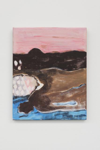 , 'Kopfschmerzbild,' 2018, Galerie Mehdi Chouakri