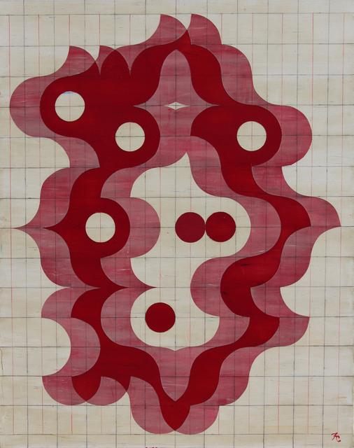 Francisco Castro Leñero, 'Orquidea- desplazamientos', 2017, Galería Quetzalli