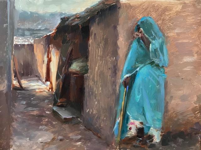 Suchitra Bhosle, 'The Udaipuri Goat Herder', Abend Gallery