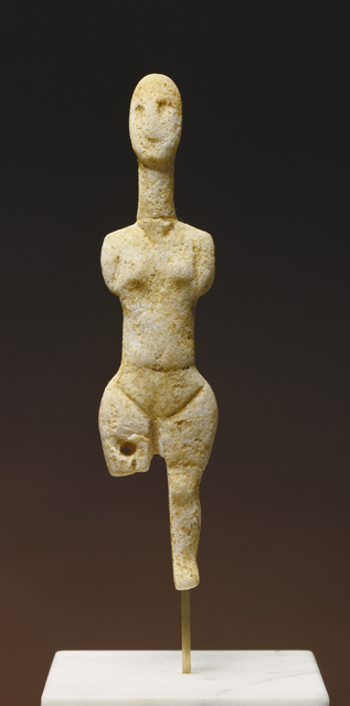 'Statuette of a Female Figure', 3000 BCE -2800 B.C., J. Paul Getty Museum