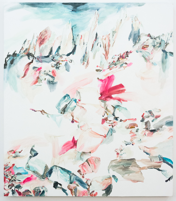 Elisa Johns, 'Feather Peaks', 2018, Morgan Lehman Gallery