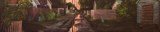 Kari Duke, 'Sunset in My Alley', 2019, The Front Gallery