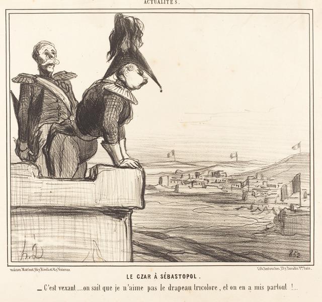 Honoré Daumier, 'Le Czar a Sébastopol', 1855, National Gallery of Art, Washington, D.C.