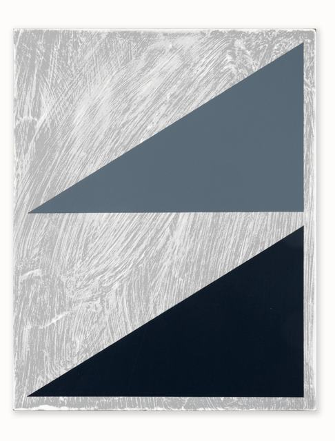 , 'Untitled (Double Triangle Painting #2),' 2015, CORDESA