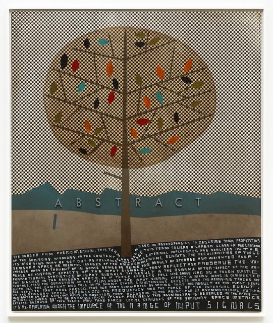 Thomas Zipp, 'A.O.: ABSTRACT (The rubber film phenomenon)', 2017, Galerie Guido W. Baudach