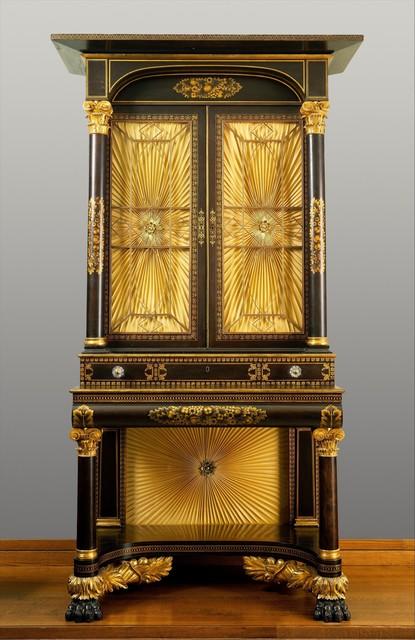 Possibly Robert Fisher, 'Secretary-bookcase', 1825–1835, The Metropolitan Museum of Art