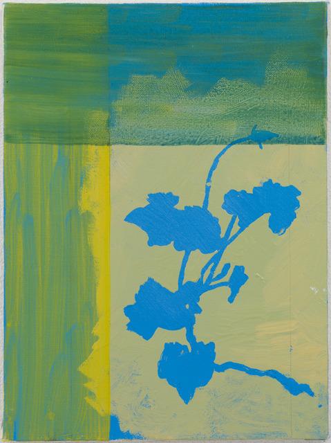 , 'Bud (Yellow, Green and Blue),' 2004, Kamakura
