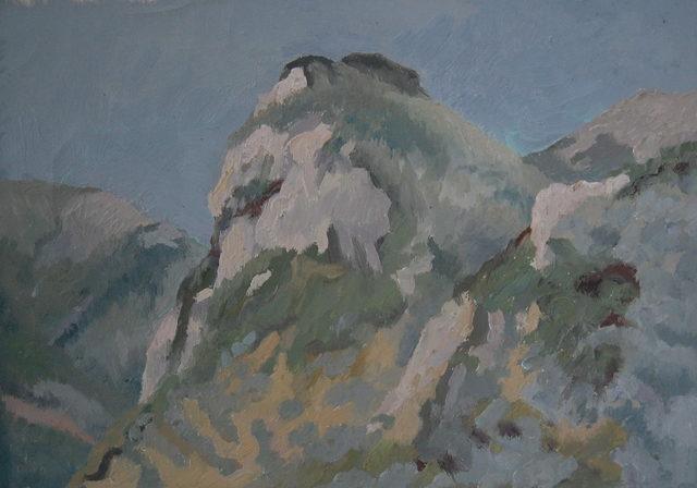 , 'Mont Sainte-Victoire, France,' ca. 1969, Robert Eagle Fine Art