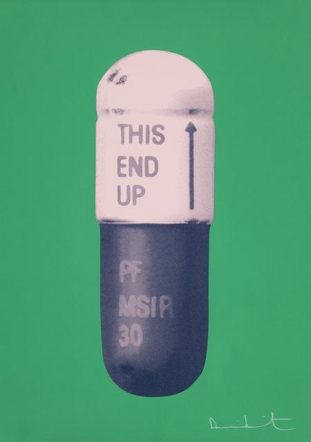 Damien Hirst, 'The Cure - Emerald Green/Powder Pink/Victorian Purple', 2014, Paul Stolper Gallery