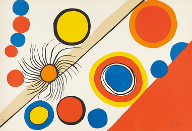 Alexander Calder, 'Nid d'araignée (Spider's Nest),' 1975, Phillips: Evening and Day Editions (October 2016)