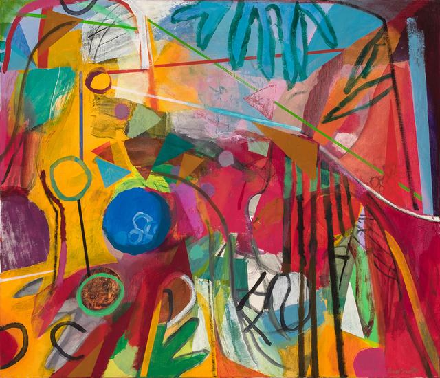 , 'Flowers Toward Landscape,' 2014, Hollis Taggart Galleries