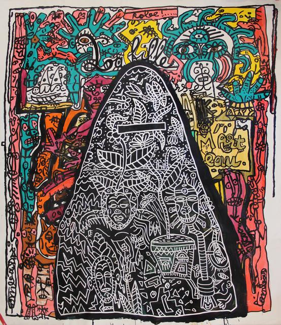 Robert Combas, 2017, Galerie Laurent Strouk