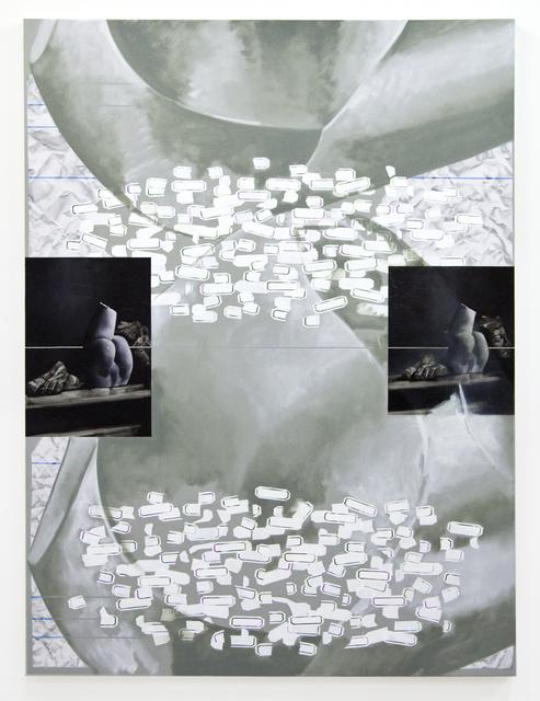 , 'Double Bloom,' 2015, Galerie Huit