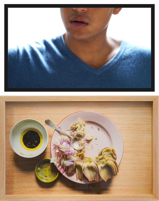 , 'The Artichoke Eater (first date),' 2016, Blindspot Gallery