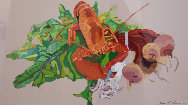 , 'Lobster,' 2003, Fountain House Gallery