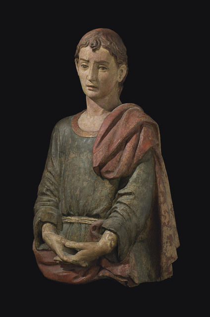 , 'Saint John the Baptist,' Late 15th century, Christie's Old Masters