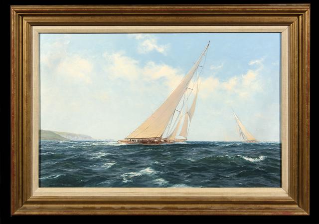 John Steven Dews, 'Velsheda Beating to Windward', ca. 1990, Trinity House Paintings