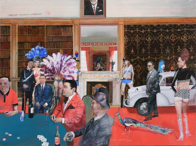 , 'I Admit the Above. Casino Republic,' 2014, 10 Chancery Lane Gallery