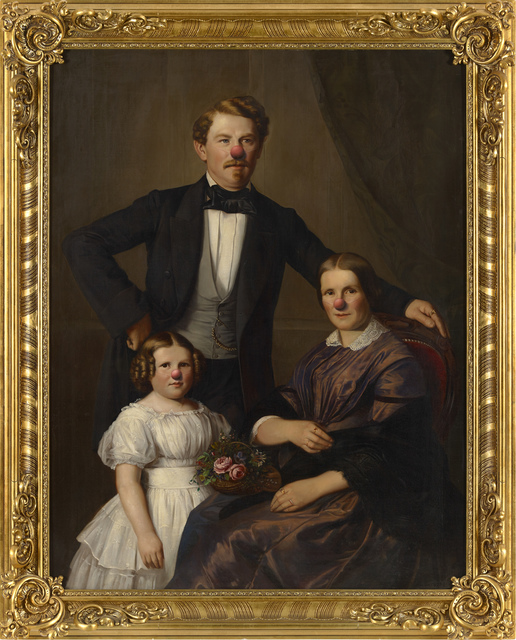 , 'Family portrait with red nose,' , 303 Gallery
