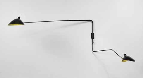 Two-Arm Wall Light