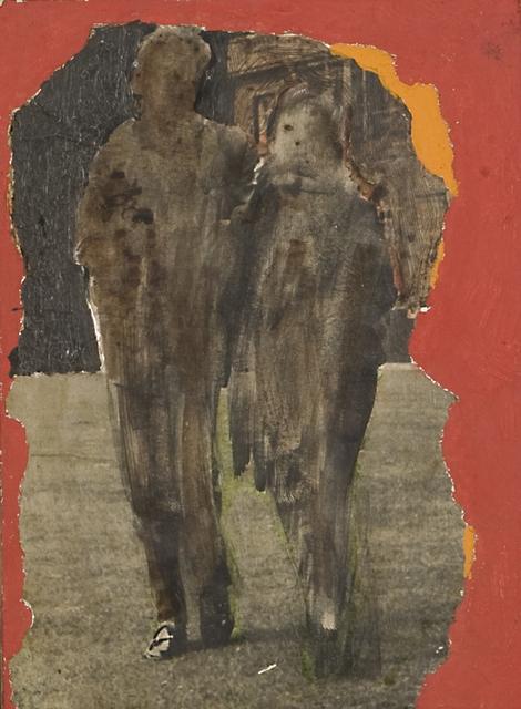 , 'Untitled (Odd Couple Red Background),' 1970, Kohn Gallery