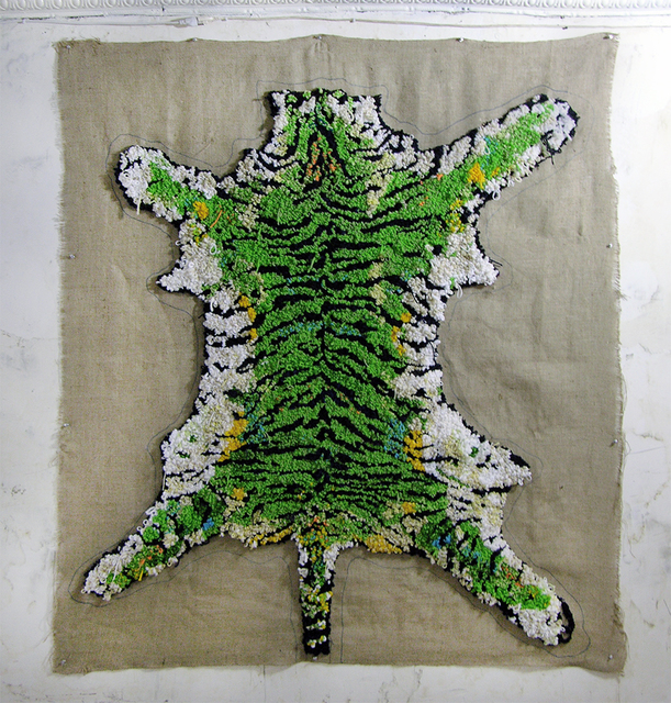, 'Tiger (Green),' 2016, LMAKgallery
