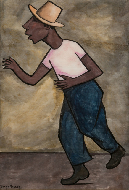 Diego Rivera, 'The Worker', Doyle