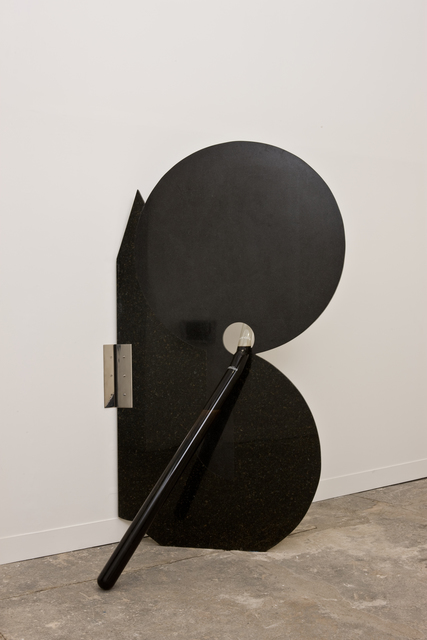 Nuno Ramos, 'fodasefoice 4', 2008, Sculpture, Granite, glass, stainless steel, coca-cola, petroleum, Fortes D'Aloia & Gabriel