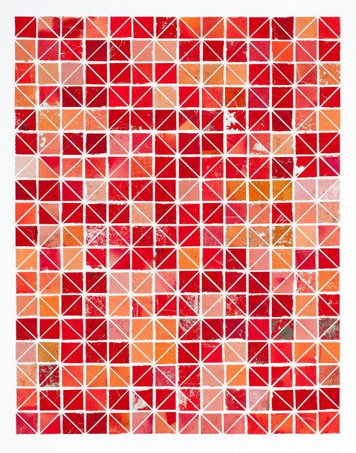 Robert Larson, 'Red Diamonds (Large)', 2009, River