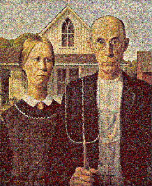 , 'American Gothic,' 2012, Tangent Contemporary Art