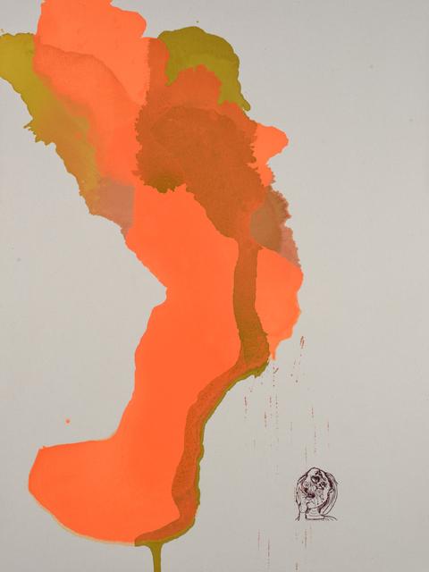 , 'Unspeakable (Guernica Sketch 12),' 2016, David Lusk Gallery