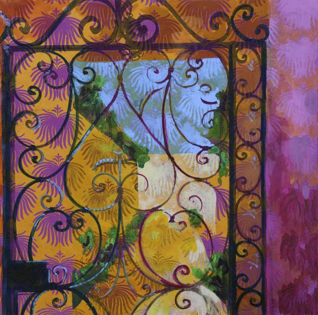 , 'BEYOND THE GATE ,' ca. 2018, MM Fine Art
