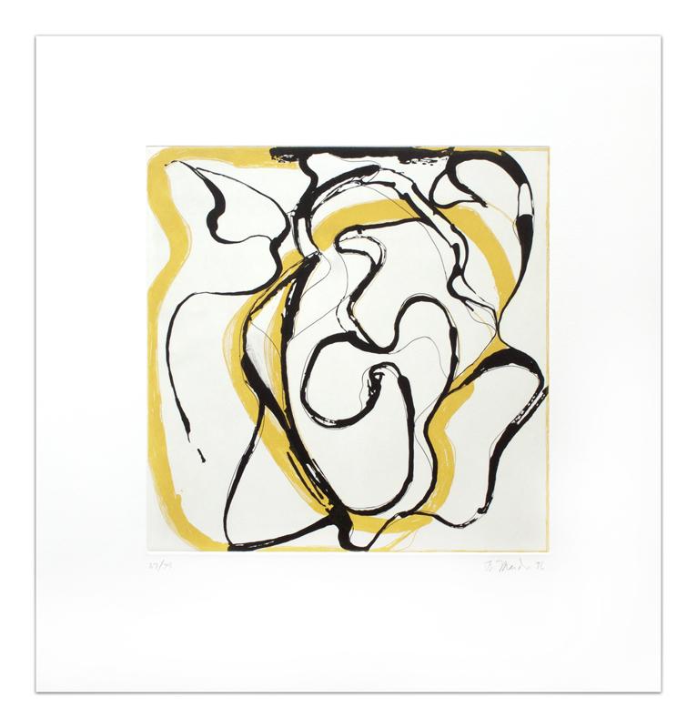 Brice Marden Untitled 1994-1996