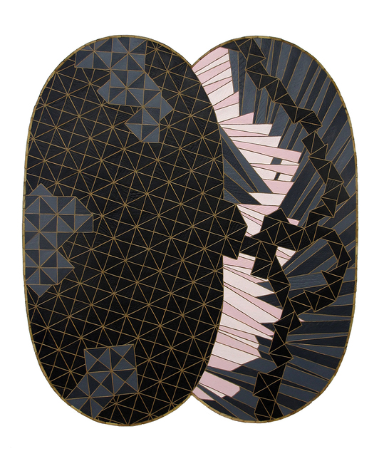 , 'Eclipsing Binary,' 2017, Linda Hodges Gallery