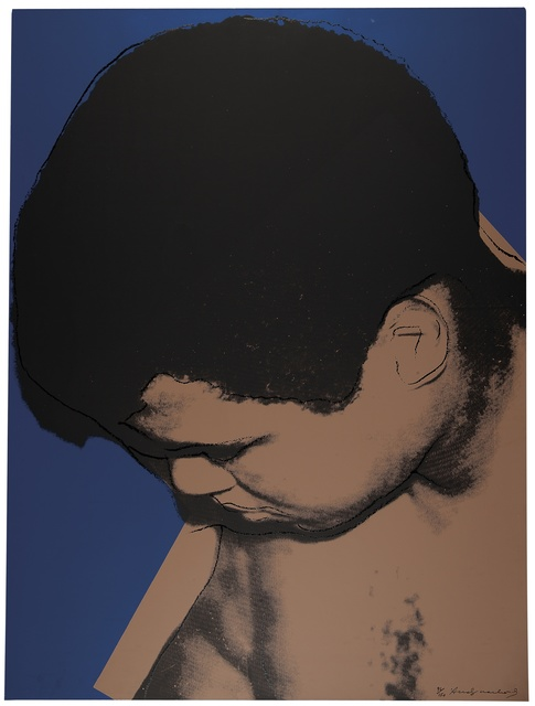 Andy Warhol, 'Muhammad Ali (See F. & S. II.180)', 1978, Print, Screenprint in colors on paper, Christie's Warhol Sale