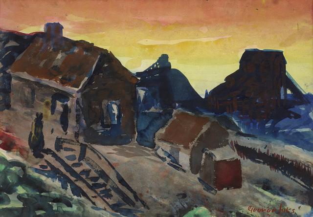 , 'Shanty Shacks, Pottsville, Pennsylvania,' ca. 1925, Debra Force Fine Art