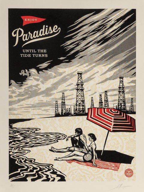 Shepard Fairey (OBEY), 'Paradise Turns', 2015, Heritage Auctions