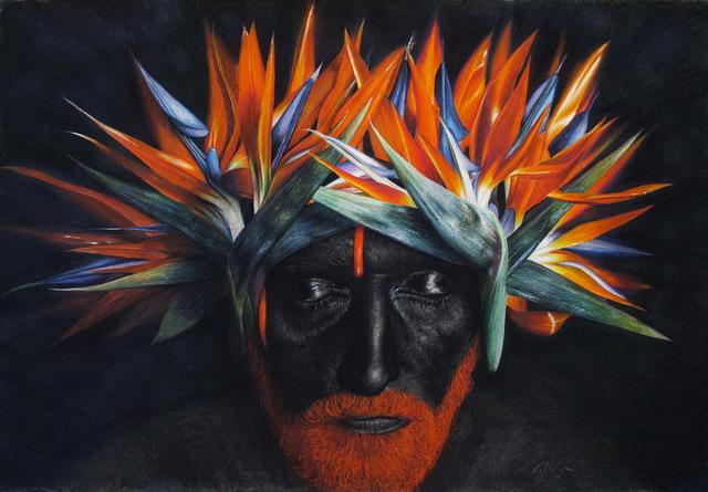 Jorge Villalba, 'Papaya Passion', 2018, GALERIE BENJAMIN ECK