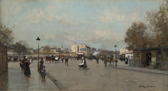 , 'Sur le Boulevard Berthier, Paris,' , Stoppenbach & Delestre