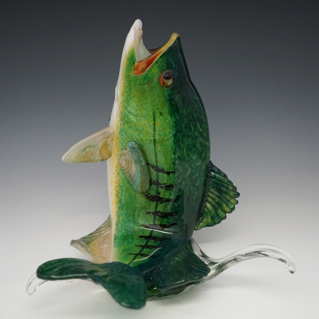 , 'Medium Leaping Large Mouth Bass,' , Kuivato, a Creative Gateways Gallery
