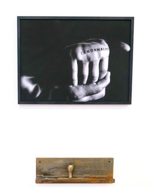 , 'LANORMALITÉ,' 2016, Galerie du Griffon