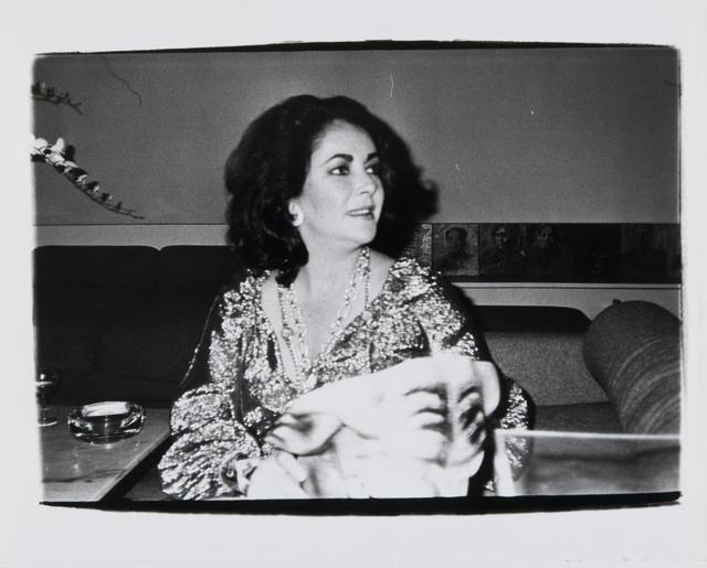 Andy Warhol, 'Andy Warhol, Photograph of Elizabeth Taylor, circa 1979-1980', 1979-1980, Hedges Projects