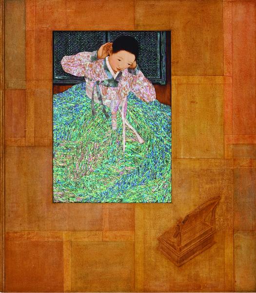 Duck-Yong Kim, 'A woman - transcend time', 2009, Leehwaik Gallery