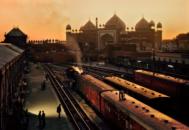 , 'Train Station, Uttar Pradesh, India,' 1983, Cavalier Galleries