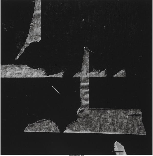 Aaron Siskind, 'New York 18', 1976, Heritage Auctions