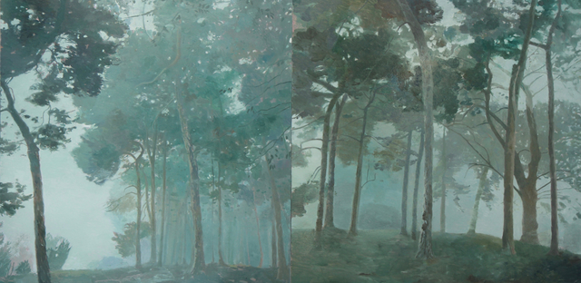 , 'Dream Forrest (diptych) ,' 2016, Long & Ryle
